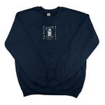 EMBROIDERED JAPANESE DEATH ROW UNISEX CREW FLEECE
