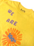 Ripple We Are 100% Sunshine Unisex Tee