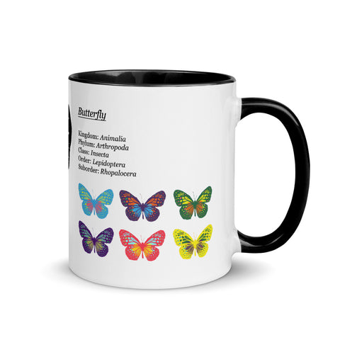 Ripple Butterly Phylum Ceramic Mug