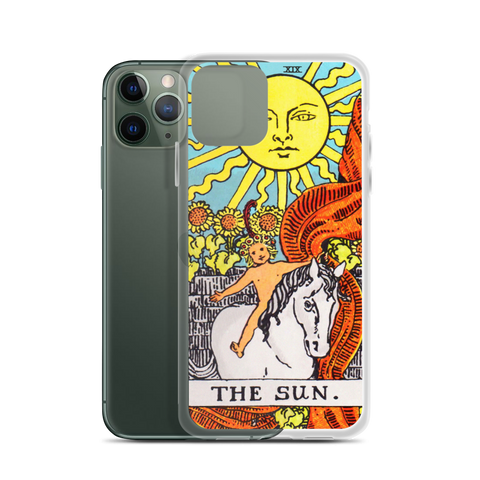 Ripple The Sun Tarot Card iPhone Case