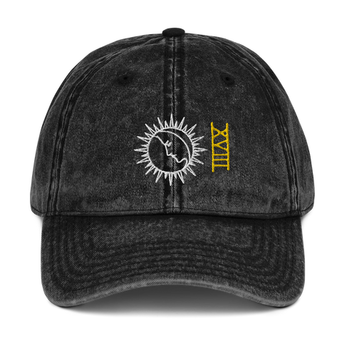 Ripple Tarot Moon Washed Dad Hat