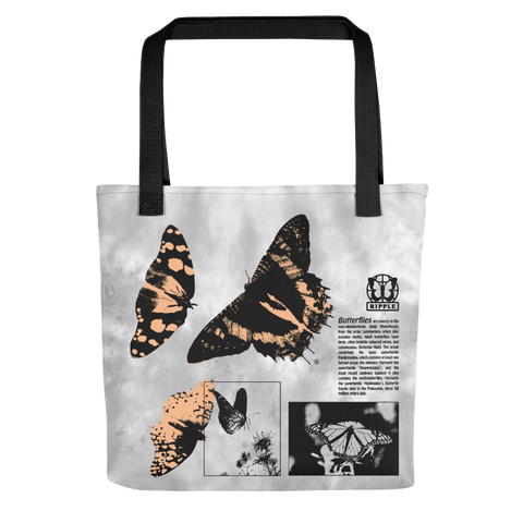 Ripple Butterfly Cloud Wash Tote