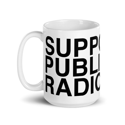 NPR Support Public Radio Ceramic Mug