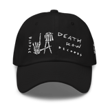 Embroidered Scratch L.A. Hands Baseball Hat