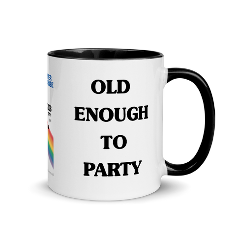 Superbad Old Enough To Party Ceramic Mug