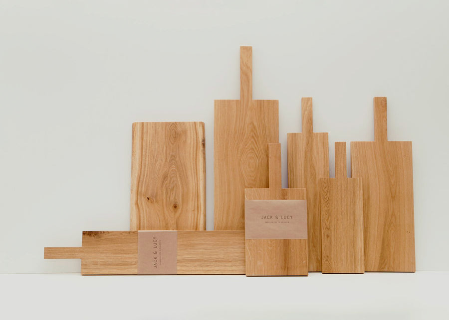 Jack & Lucy handled Cutting and Serving Boards
