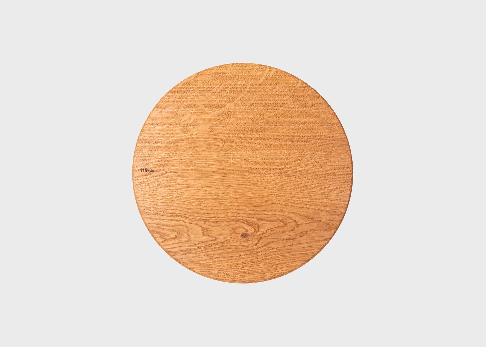 OAK WOOD ROUND CUTTING BOARD