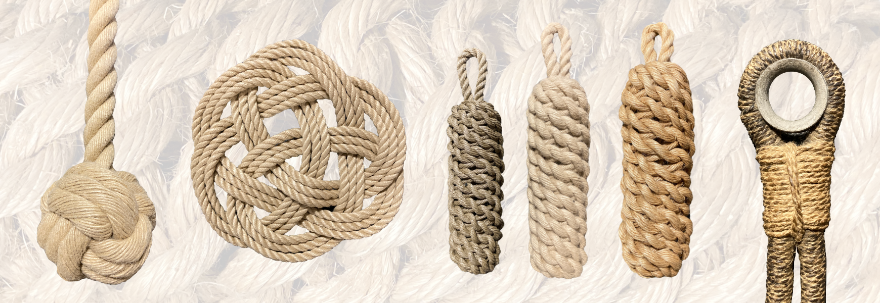 Knot tying rope