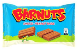 Bar Nuts Choco Peanut Bars 100g (20x5g)