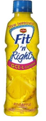 Fit n Right Pineapple 330ml