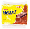 Hello Vanilla Choco-Coated, Chocolate  Filled Wafer Sandwich, 150g