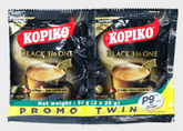 Kopiko Black 3in1 Twin Pack 2 x 25g