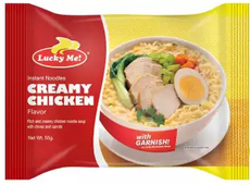 Lucky Me Creamy Chicken 55g
