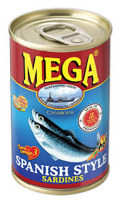 Mega Creations Sardines Spanish Style Hot 155g
