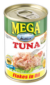 Mega Tuna Flakes in Oil 155g