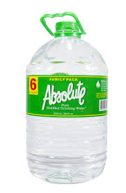 Absolute Pure Distilled Drinking Water 6L