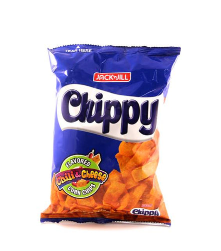 Chippy Chili & Cheese Flavored Corn Chips, 110g