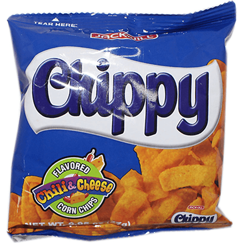 Chippy Chili & Cheese Flavored Corn Chips, 27g