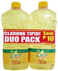 Jolly Claro Palm Oil Duo Pack 2pcs x 1L