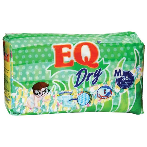 EQ Dry Diapers M 36s