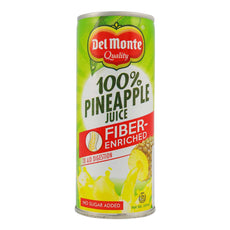 Del Monte Pineapple Juice Fiber 240ml