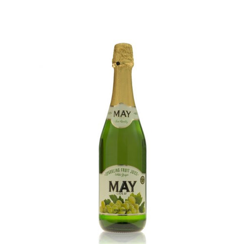 May Sparkling White Grape Juice 750ml
