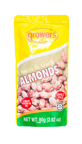 Growers Onion & Garlic Almond 80g