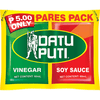 Datu Puti Pares Pack (Vinegar & Soy Sauce) 2 x 60ml