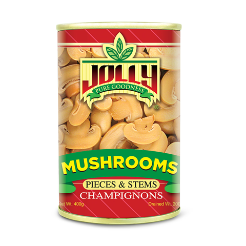 Jolly Mushrooms Pieces and Stems 400g