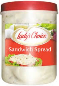 Lady's Choice Sandwich Spread 3.5Liter