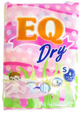 EQ Dry Diapers S 4s