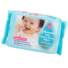 Johnson's Baby Wipes Hand & Face 20s