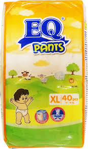 EQ Pants Diapers XL 36s