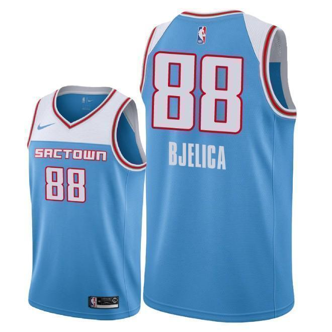 innovative design d9a06 54ccb Sacramento Kings #88 Nemanja Bjelica NEW 2018/19 City Edition Swingman  Jersey