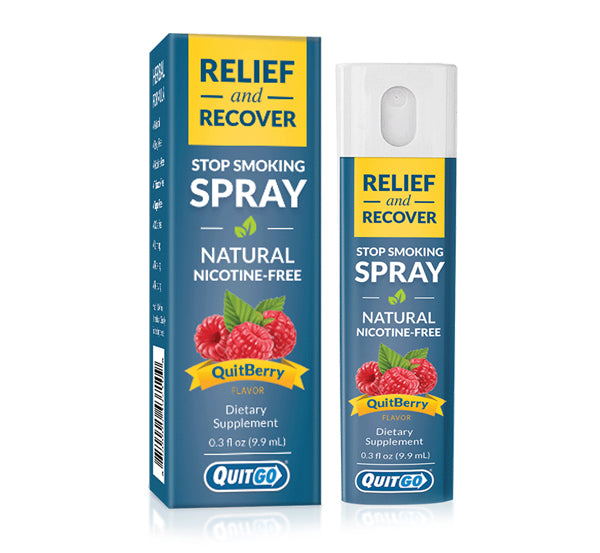 QuitGo® | Relief & Recover Spray
