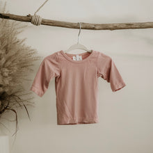 Load image into Gallery viewer, Blush Oeko-Tex Certified Bamboo Knit Long Sleeve Shirt