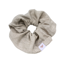Load image into Gallery viewer, Linen Hair Scrunchie