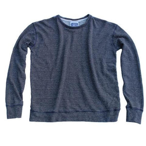 Striped Tahoe Terry Sweatshirt