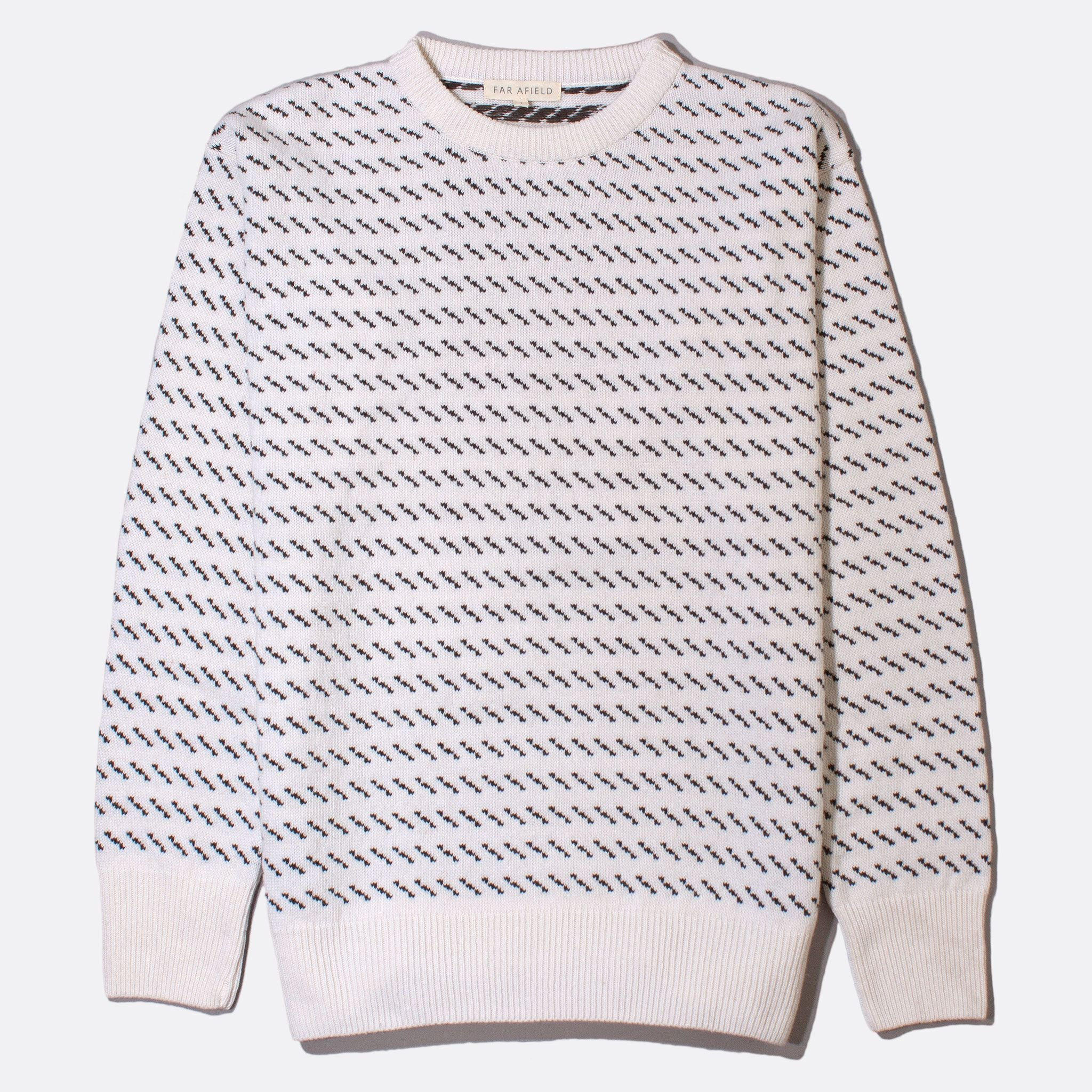 Drop Shoulder Flek Knit