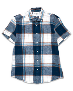 Corridor Big Tan Plaid Shirt
