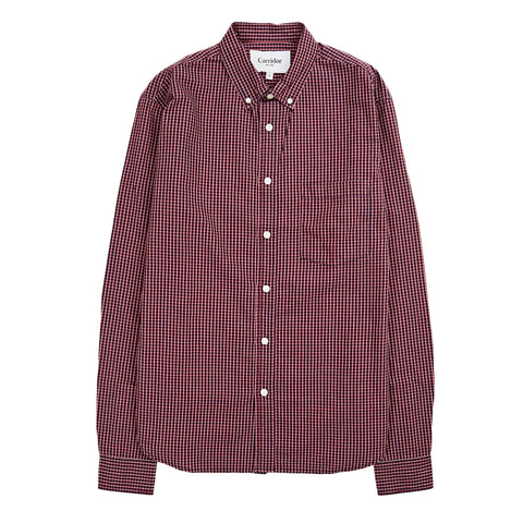 Corridor Indigo Red Check