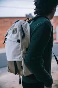 Topo Designs Daypack - Natural/Khaki Leather