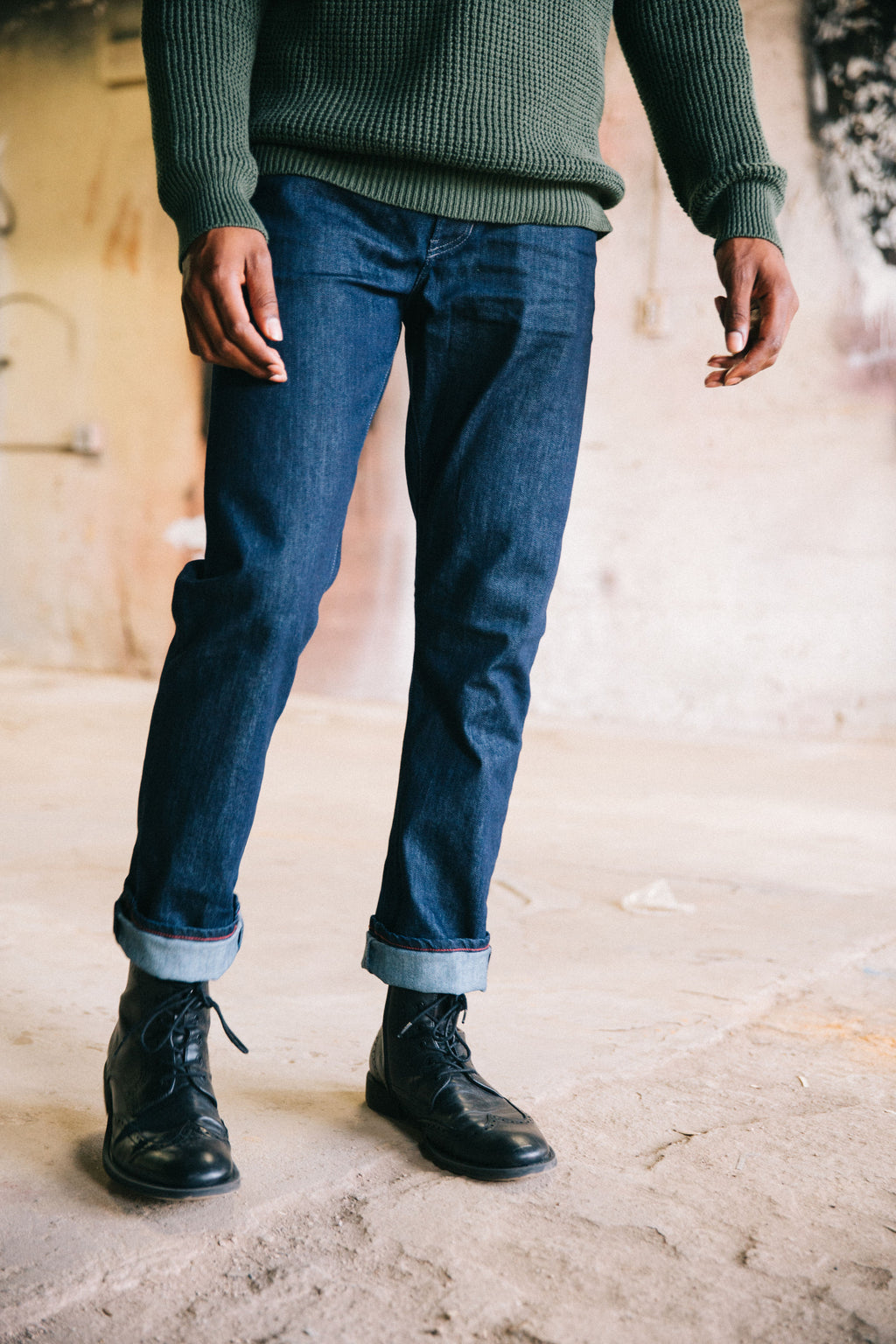 Raleigh Denim Workshop Jones Resin Rinse