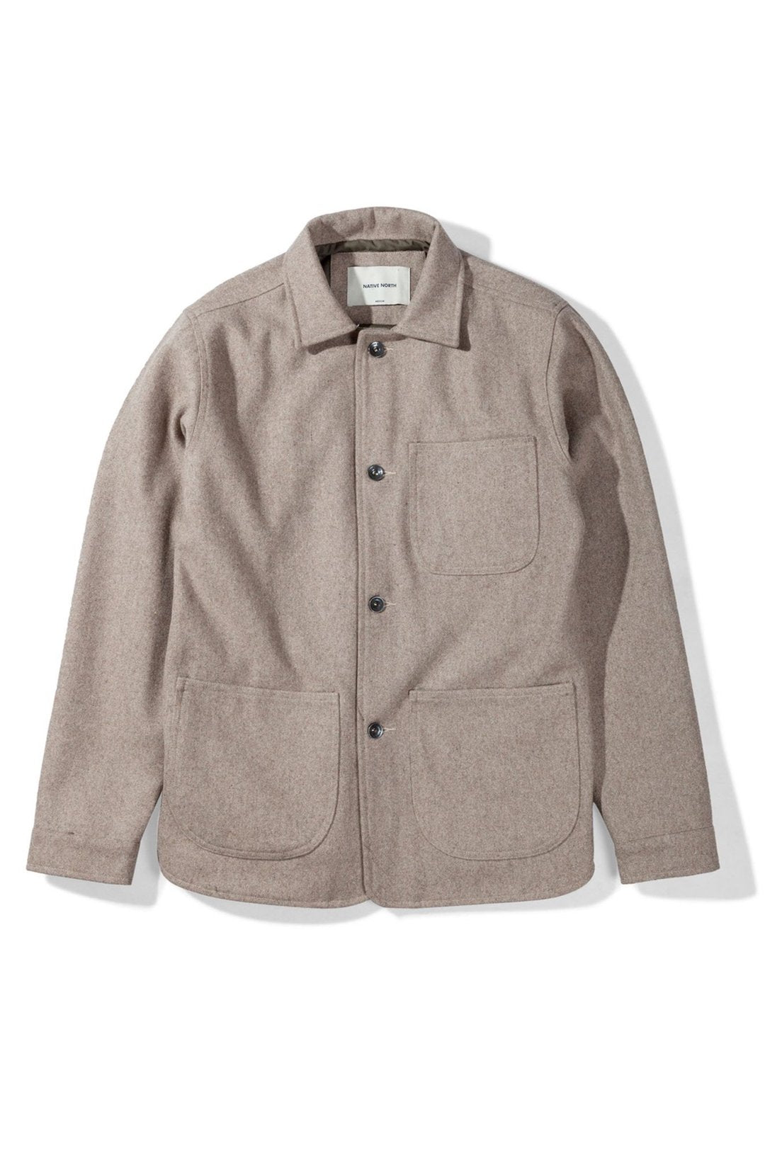 Native North Wool Utility Jacket
