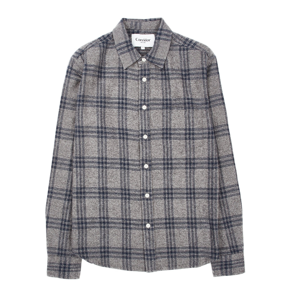 Corridor Grey Check Flannel
