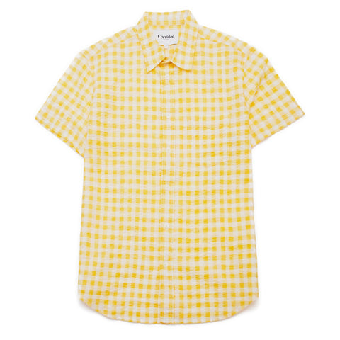 Corridor Yellow Gingham