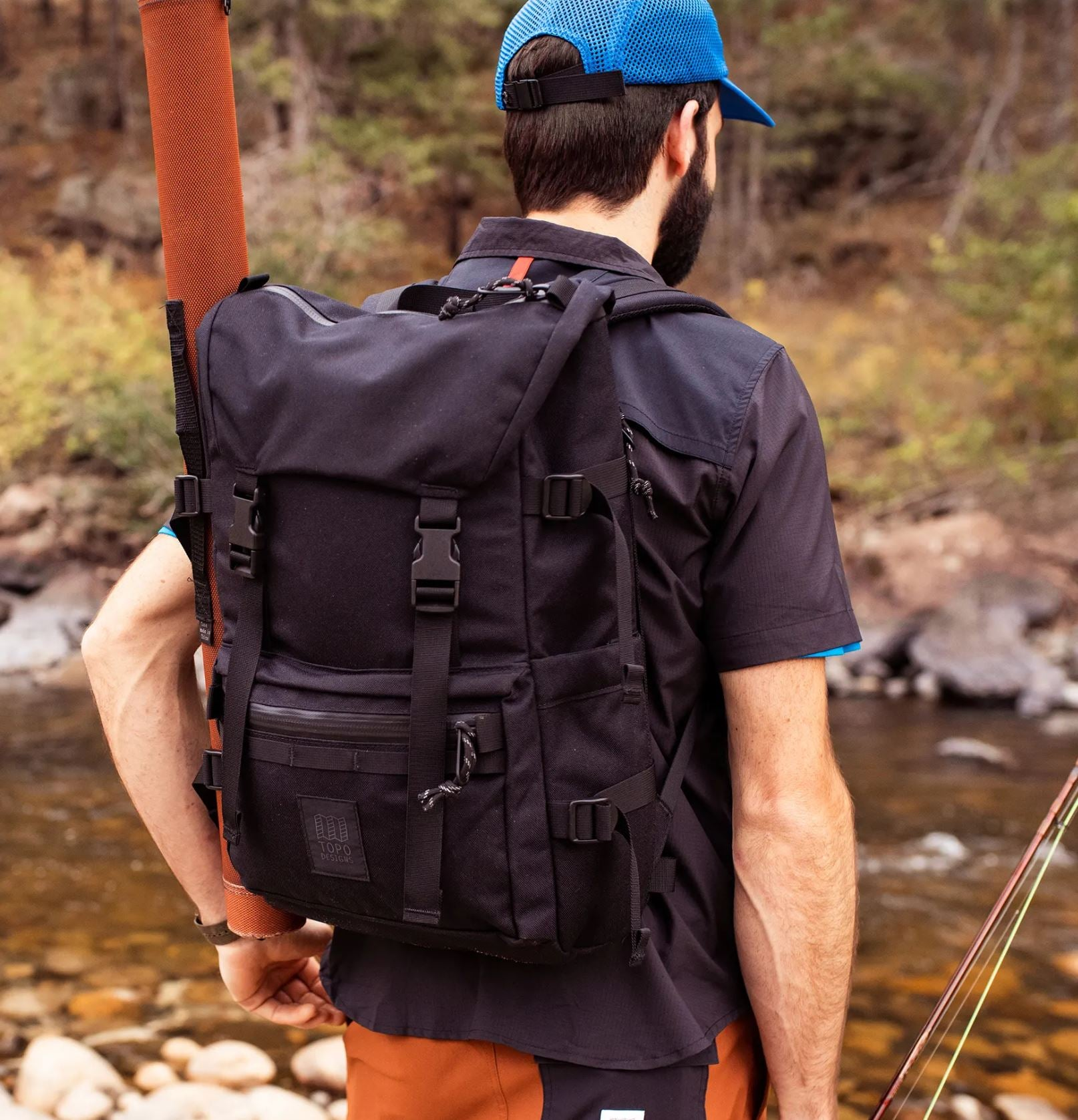 Topo Designs Tech Pack - Black