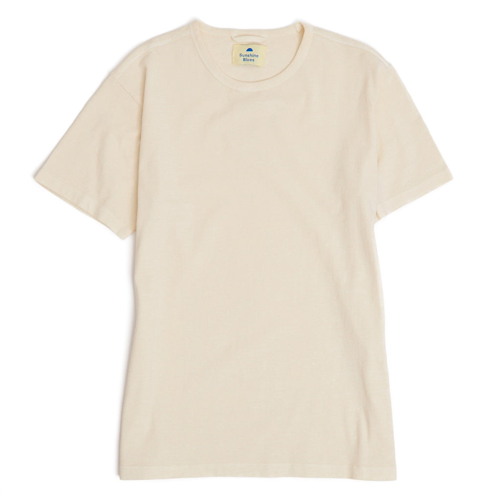 Sunshine Blues Creme T-shirt