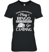 Some Grandmas play bingo real Grandmas go camping
