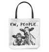 EW PEOPLE BASKETWEAVE TOTE BAG copy